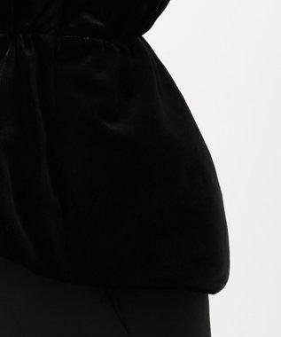 組曲 S 【Rythme KUMIKYOKU】ベロアダウン ブラック系