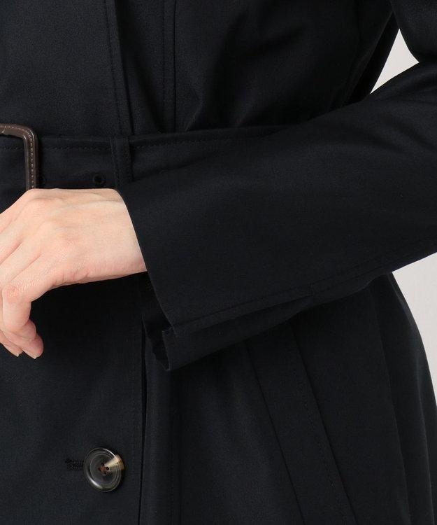組曲 【撥水加工・花粉ガード】ダブルロングトレンチ コート