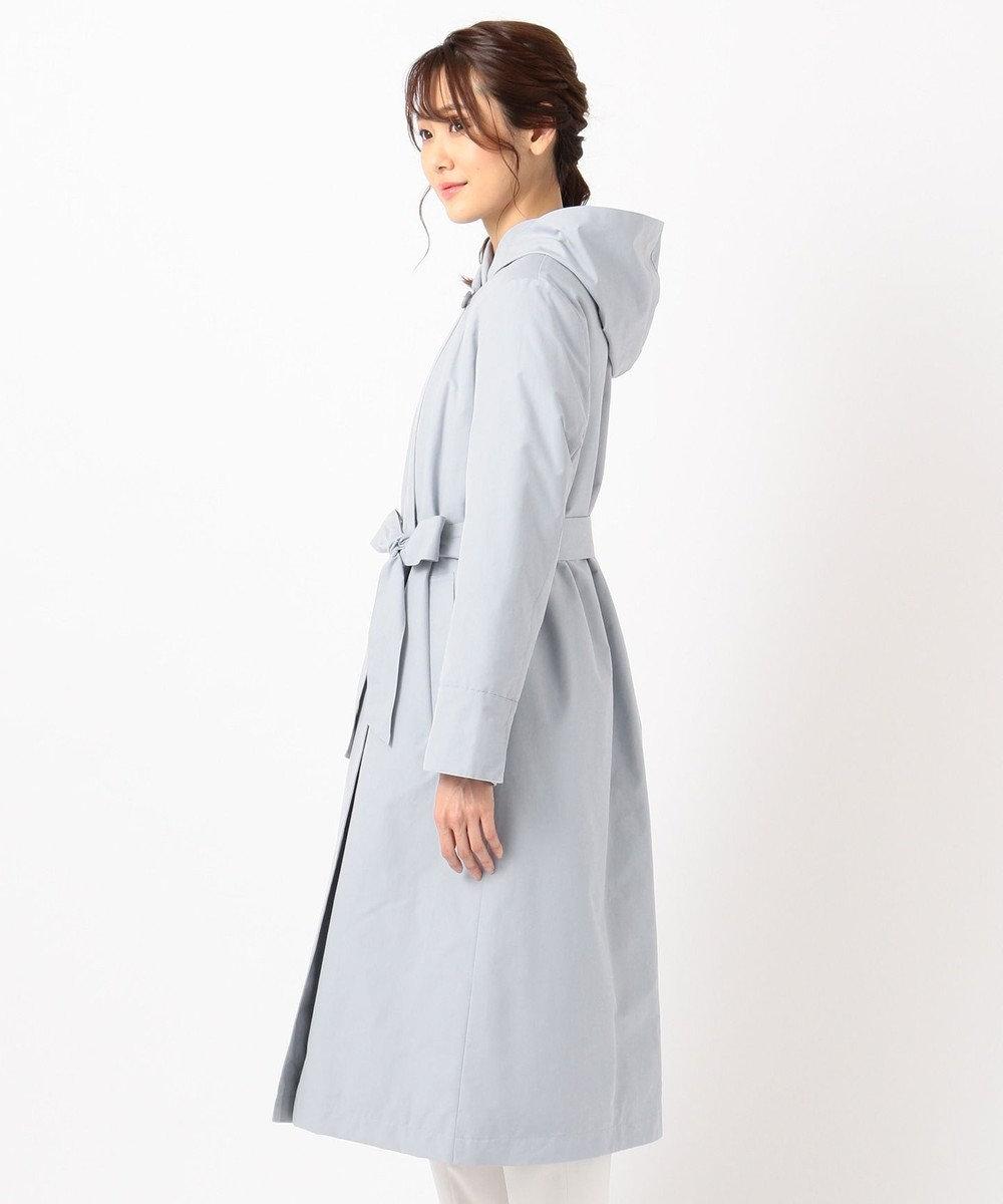 組曲 S 【Oggi1月号掲載】グログラン ダウンコート サックスブルー系