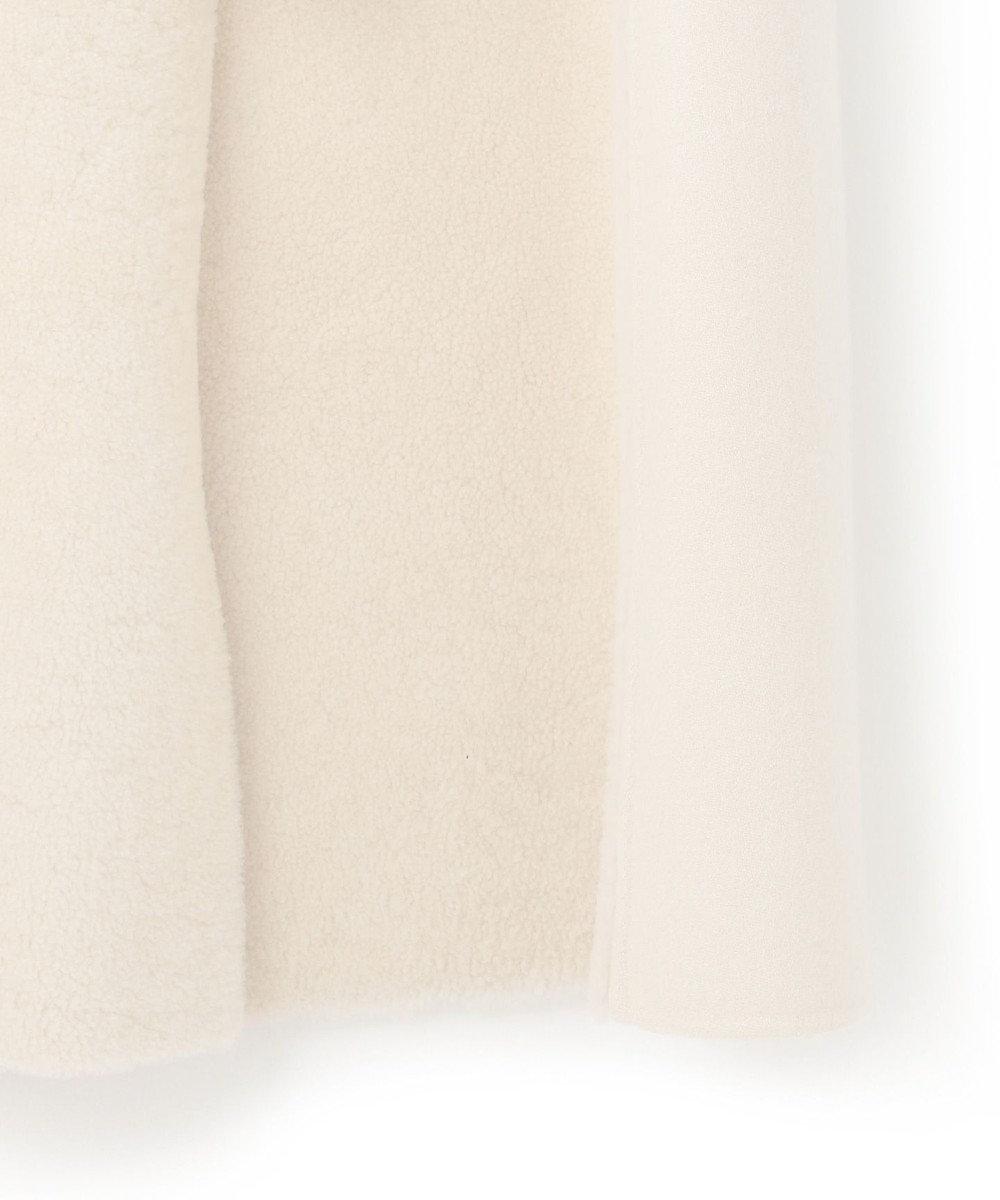 BEIGE, GOOLE / ムートンコート Bone