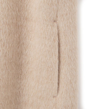 BEIGE, MAWLA / ウールコート Nude