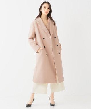 BEIGE, BLUNTS / ダブルチェスターコート Nude Pink
