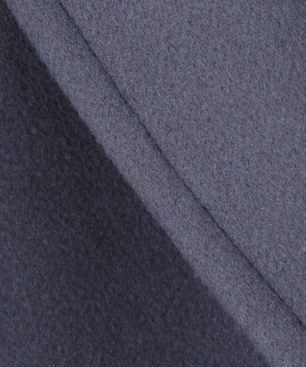 ICB L 【マガジン掲載】Melton チェスターコート(番号CL23) ダルブルー系