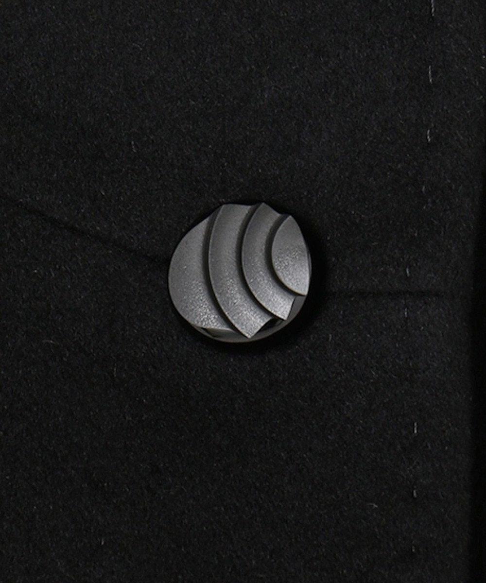 自由区 FORMAL ピュアカシミヤコート ブラック系