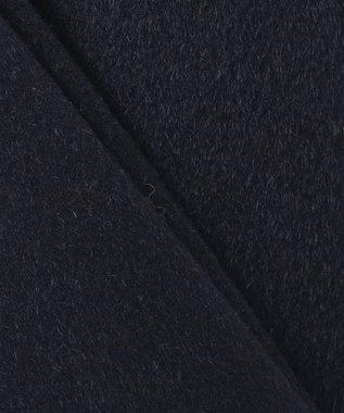 J.PRESS MEN ウールカシミヤビーバー ステンカラーコート ネイビー系