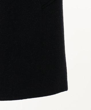 J.PRESS MEN 【EXTRA FINE】 ダブルフェイス バルマカーンコート ネイビー系
