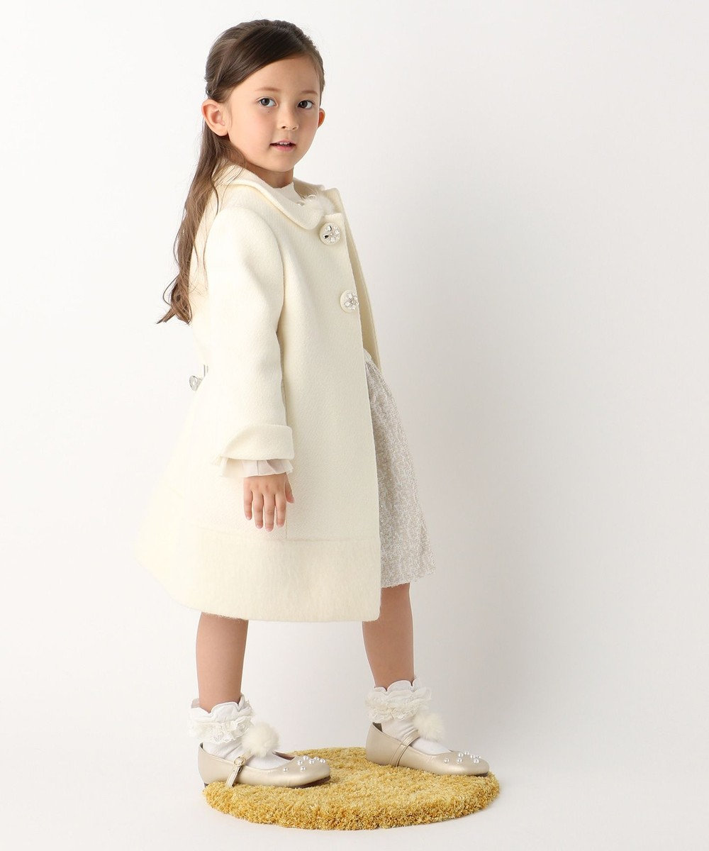 TOCCA BAMBINI 【KIDS】クラシカルドビー コート アイボリー系