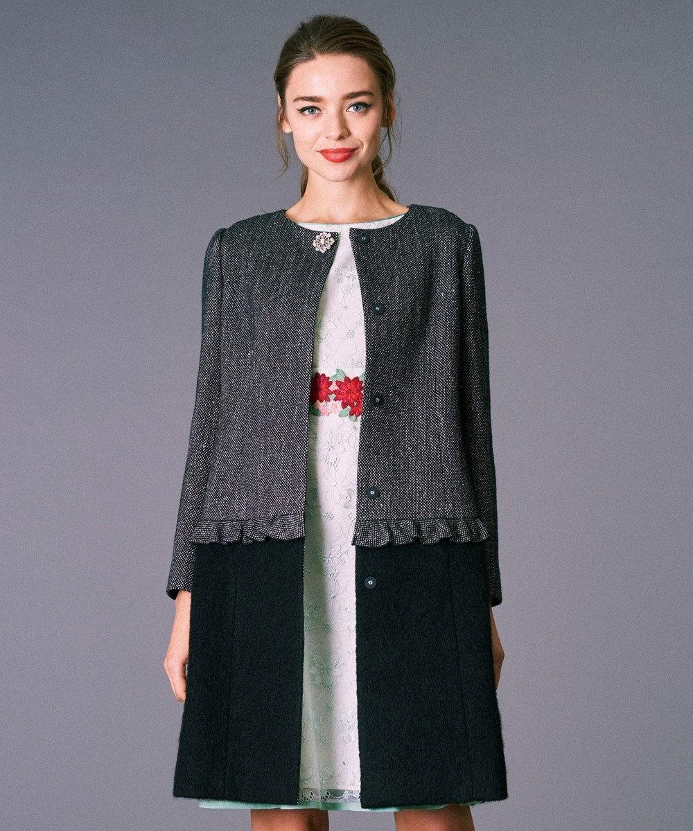 TOCCA 【WEB限定】LADY コート [WEB限定]ブラック系