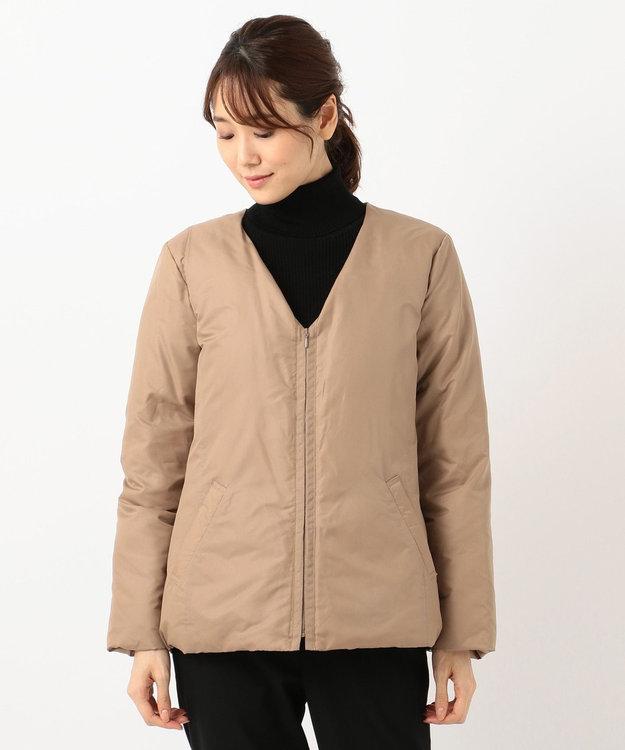 自由区 L 【mi-mollet掲載】ADS インナーダウン付き フーデッドコート