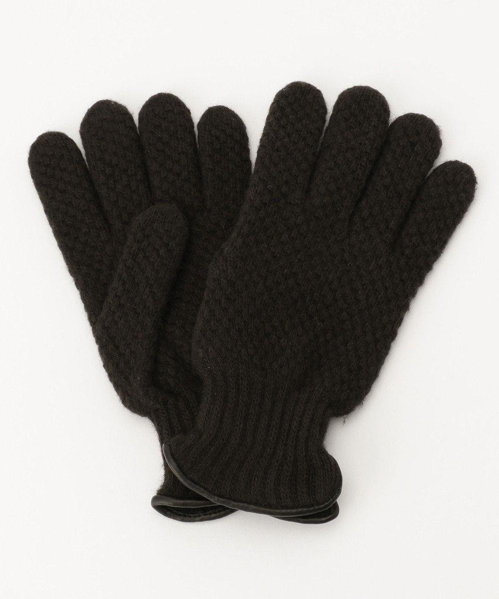 J.PRESS MEN 【ウールカシミヤ】ライニング 手袋 ブラウン系