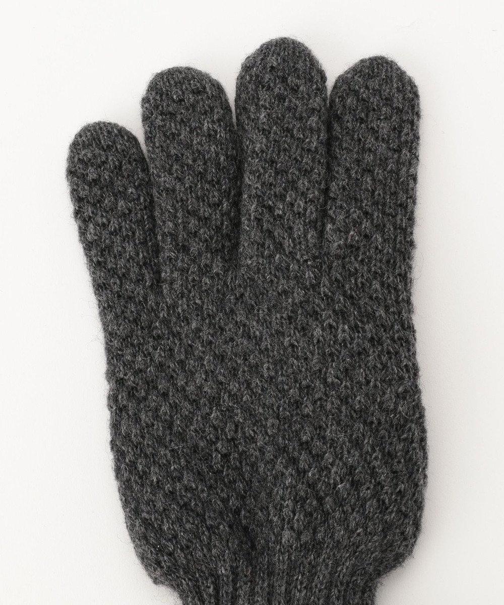 J.PRESS MEN 【ウールカシミヤ】ライニング 手袋 グレー系