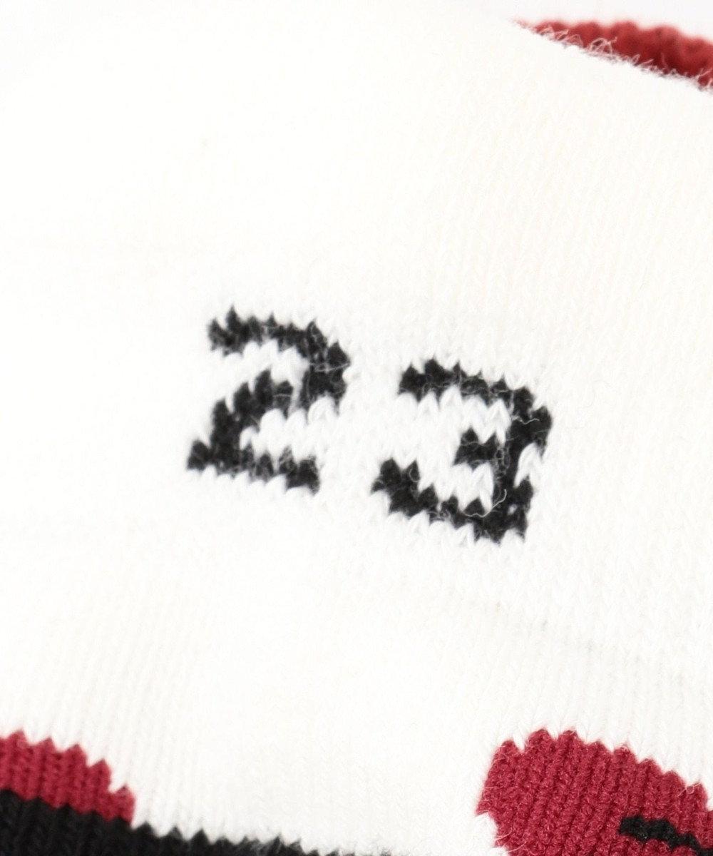 23区GOLF 【WOMEN】ハート柄アンクル ソックス ブラック系5