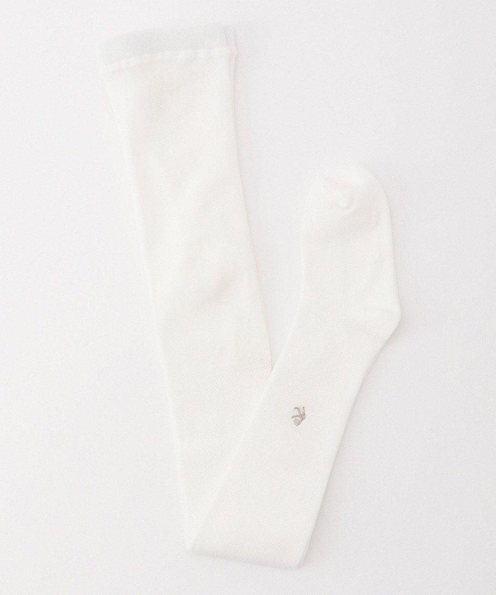 組曲 KIDS 【100-160cm】ナイロンタイツ アイボリー系