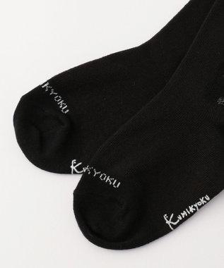 組曲 KIDS 【KIDS雑貨】リボンラメタイツ (100~160cm) ブラック系
