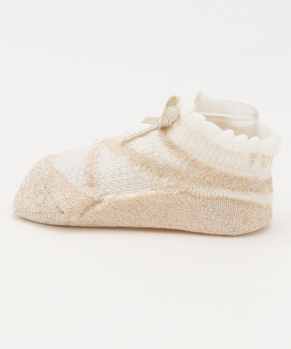 TOCCA BAMBINI 【BABY雑貨】ベイビーポワント ソックス(7~9cm) キャメル系