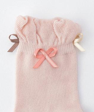 TOCCA BAMBINI 【KIDS雑貨】リボンソックス (9~22cm) ピンク系