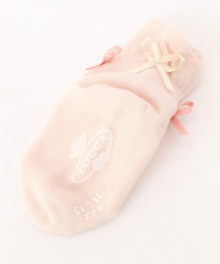 TOCCA BAMBINI 【KIDS雑貨】リボンクルーソックス(9~24cm) ピンク系
