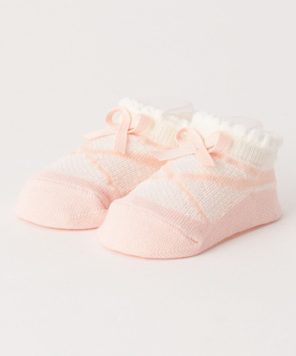 TOCCA BAMBINI 【BABY雑貨】ベイビーポワント ソックス(7~9cm) ローズ系
