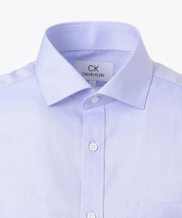 CK CALVIN KLEIN MEN 【形態安定】リファインドシャドウストライプ シャツ