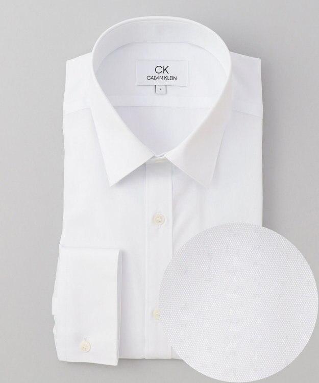 CK CALVIN KLEIN MEN 【形態安定】リファインドポプリン シャツ / レギュラーカラー