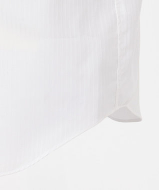 CK CALVIN KLEIN MEN 【形態安定】リファインドシャドーストライプ シャツ ホワイト系1