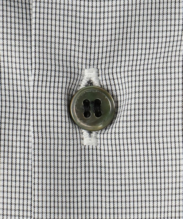 CK CALVIN KLEIN MEN 【こだわり素材】ALBINIスーパーファインコットンチェック シャツ