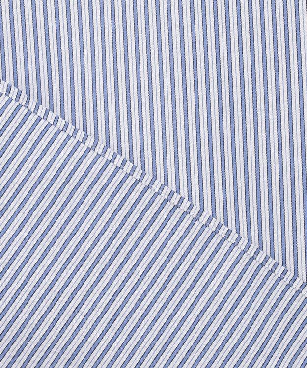 DAKS 【THOMAS MASON】ポプリンストライプシャツ  / ワイドカラー