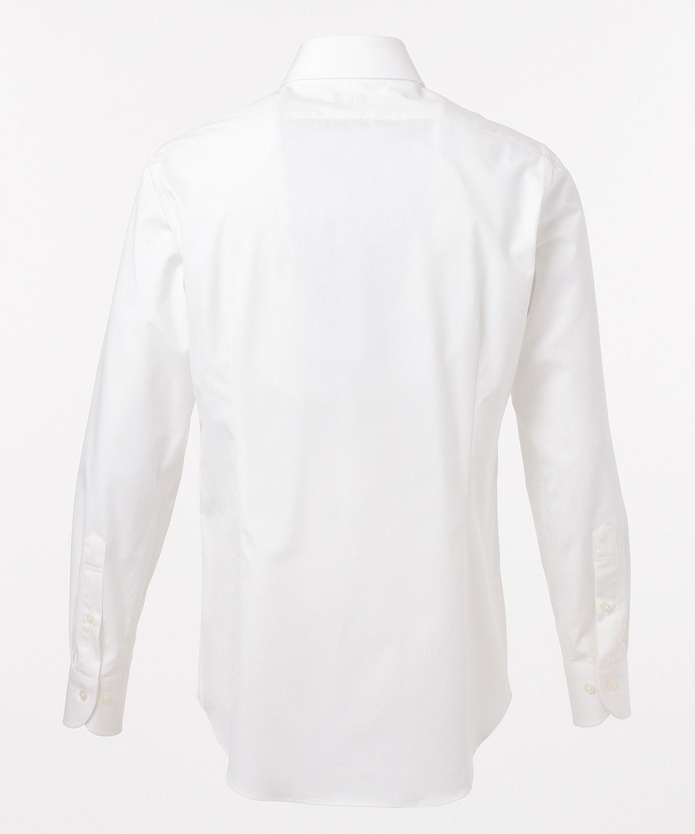GOTAIRIKU 【形態安定】PREMIUMPLEATS ドレスシャツ / 無地 ホワイト系