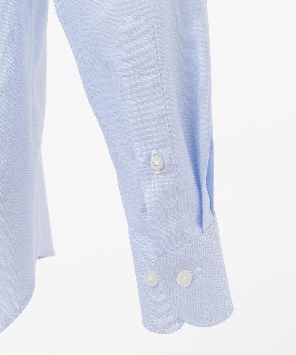 GOTAIRIKU 【形態安定】PREMIUMPLEATS ドレスシャツ / ロイヤルオックスBD サックスブルー系