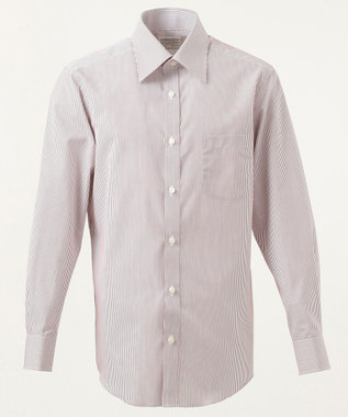GOTAIRIKU 【形態安定】PREMIUMPLEATS ドレスシャツ レッド系1