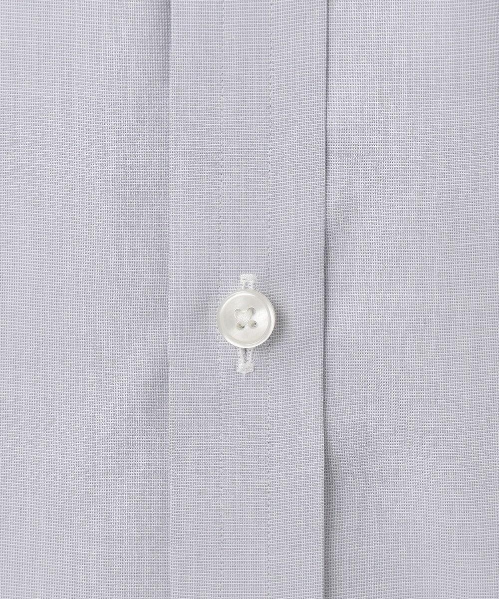 GOTAIRIKU 【形態安定】PREMIUMPLEATS ドレスシャツ / 無地 ライトグレー系