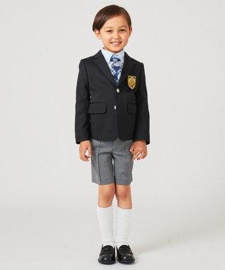 J.PRESS KIDS 【110-130cm】ツイルジャージー シャツ サックスブルー系