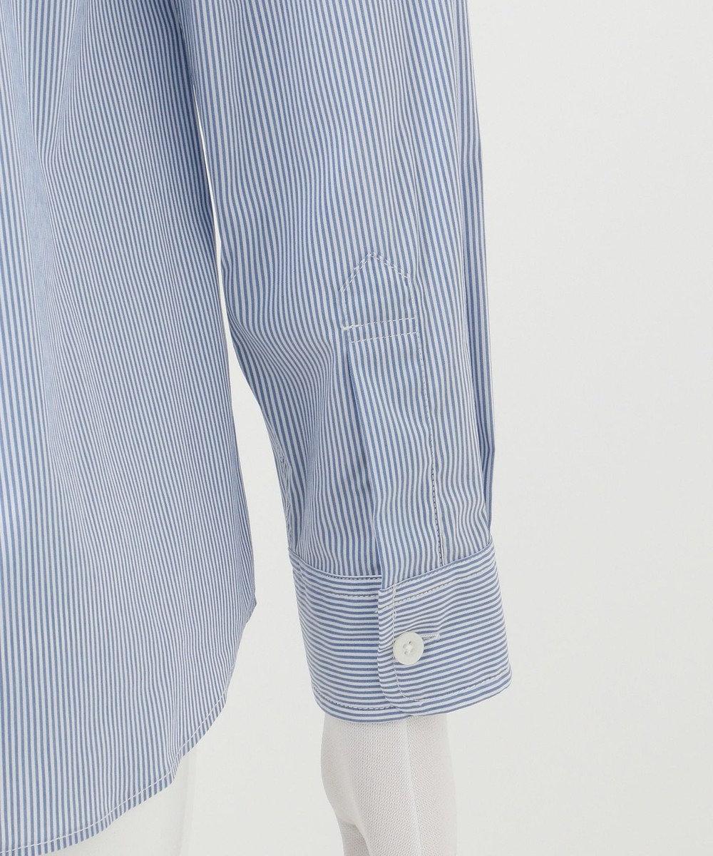 J.PRESS KIDS 【140-170cm】スモールロンストストレッチ シャツ ブルー系