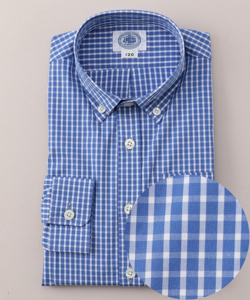 J.PRESS KIDS 【TODDLER】スモールチェック シャツ ブルー系