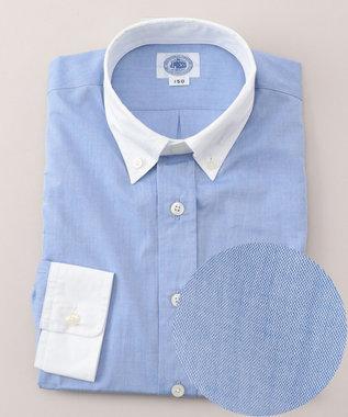 J.PRESS KIDS 【SCHOOL】クレリックシャンブレーブロード シャツ ブルー系
