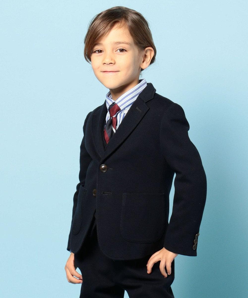 J.PRESS KIDS 【TODDLER】オルタネイトストライプ シャツ ブルー系1