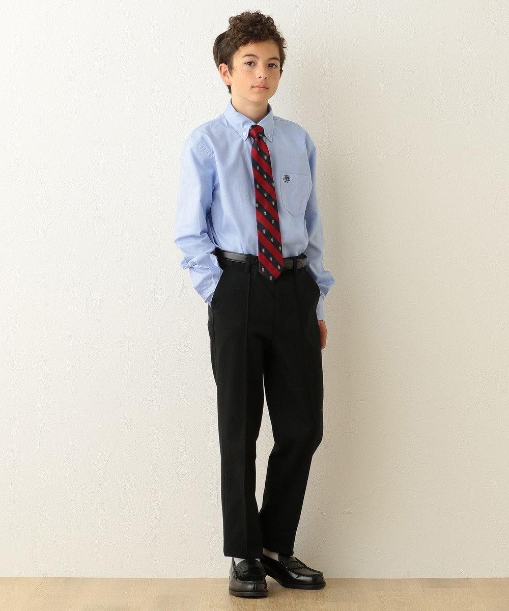 J.PRESS KIDS 【SCHOOL】ドレスオックス シャツ サックスブルー系