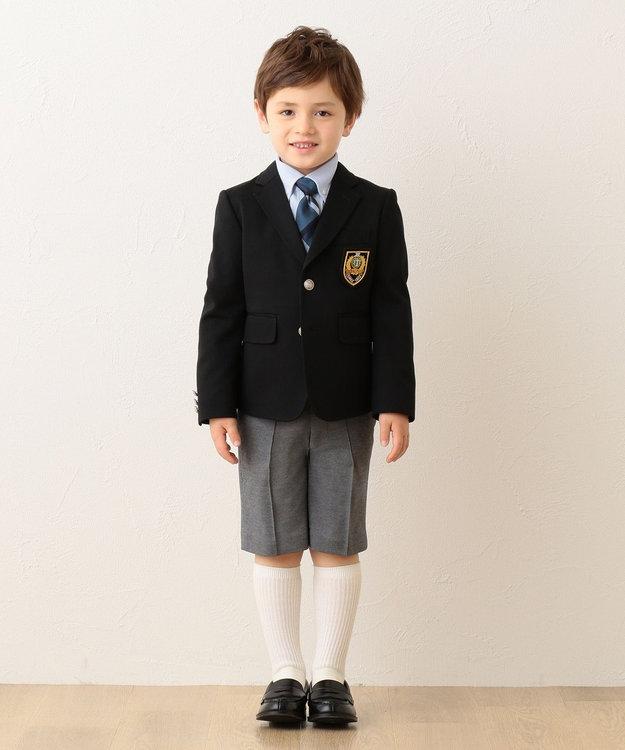J.PRESS KIDS 【120-130cm】シャドーストライプジャージ シャツ