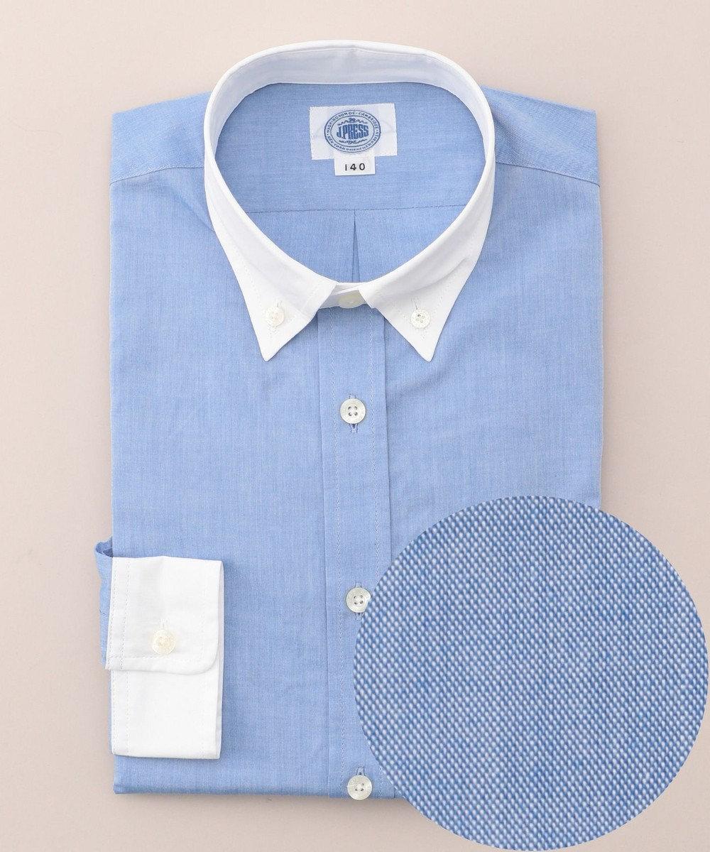 J.PRESS KIDS 【SCHOOL】クレリック シャツ ブルー系