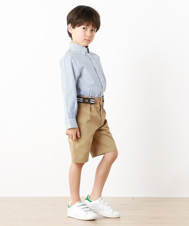J.PRESS KIDS 【SCHOOL】レールストライプ シャツ
