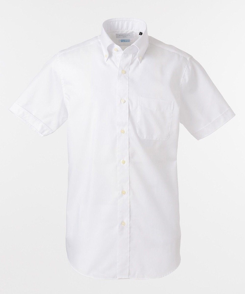GOTAIRIKU 【WEB社販限定商品】ドレスシャツ_無地_ボタンダウン ホワイト系