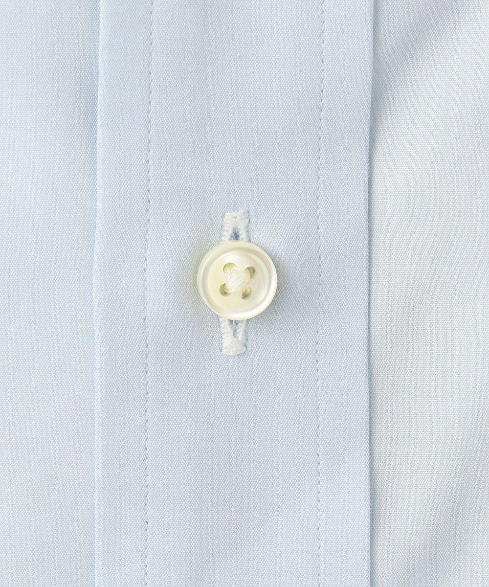 J.PRESS MEN 【Single Needle Tailoring】ブロード シャツ / ワイドカラー サックスブルー系