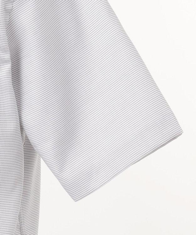 J.PRESS MEN 【PREMIUM PLEATS / 形態安定】ピンヘッド 半袖シャツ / B.D