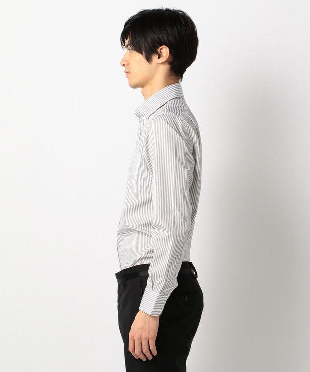 J.PRESS MEN 【SINGLE NEEDLE TAILORING】ファンシーストライプ ワイド シャツ