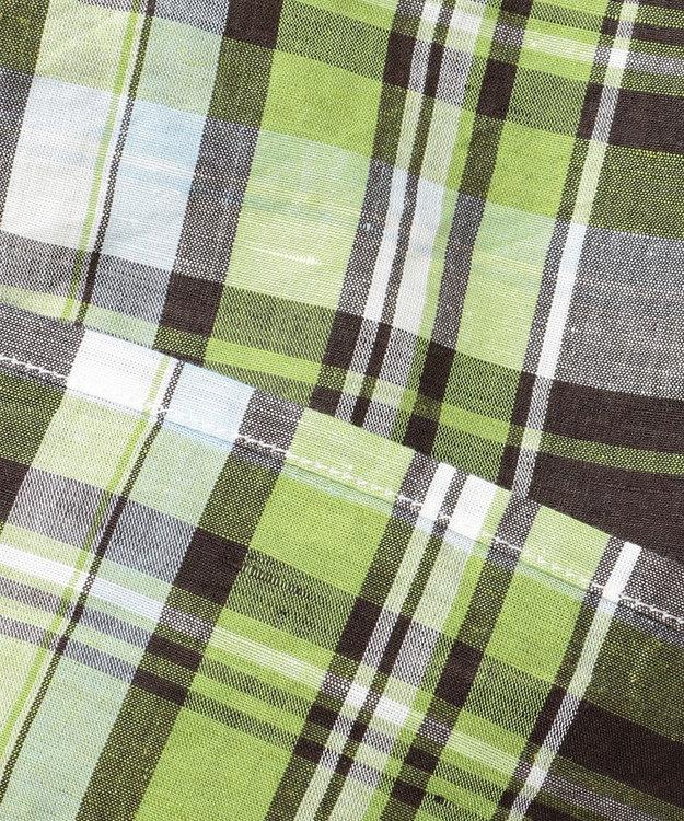 JOSEPH ABBOUD 【JOE COTTON】スラブマドラス シャツ