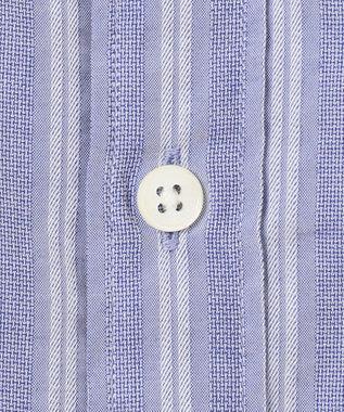 23区HOMME コンパクトストレッチドビーシャツ サックスブルー系