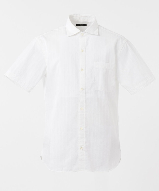 23区HOMME コンパクトストレッチドビーシャツ