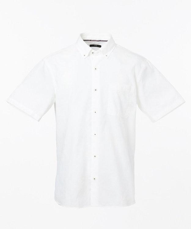 23区HOMME コットンジャガードシャツ