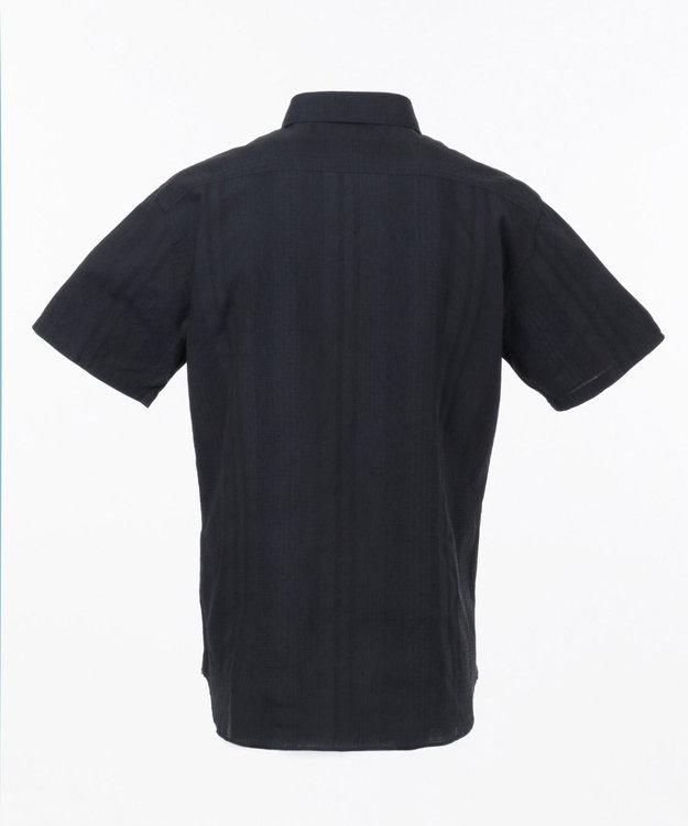 23区HOMME 【キングサイズ】コットンジャガードシャツ