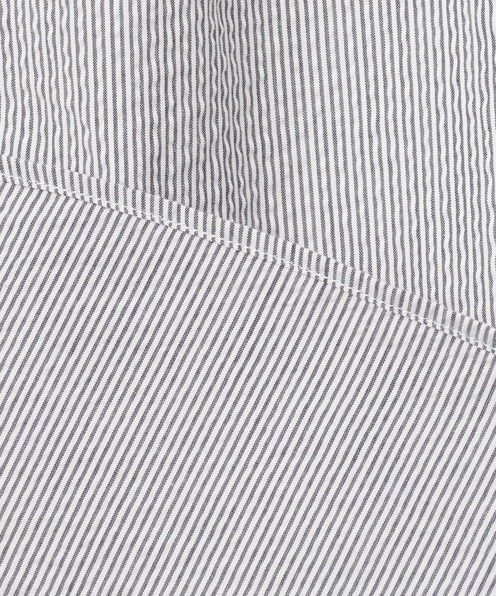 J.PRESS MEN 【一部店舗・WEB限定】サッカーストライプ シャツ ライトグレー系1